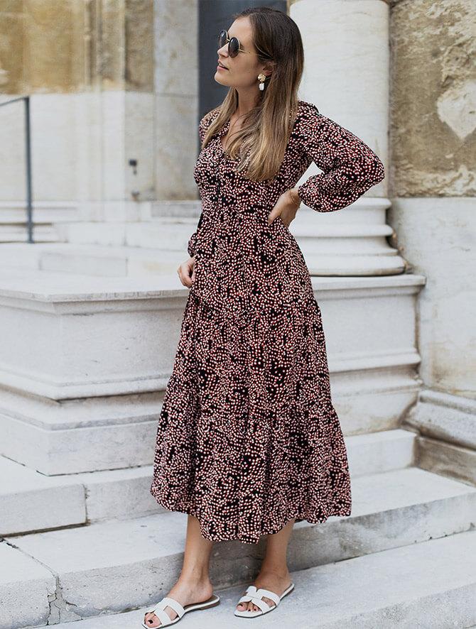 Modisch Kleid Herbst 2020